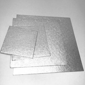 1.75mm Square Silver Strawboard (25 Pack)