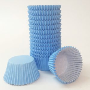 Baby Blue Cupcake Cases (pack of 180)