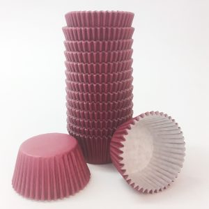 Burgundy Cupcake Cases (pack of 180)