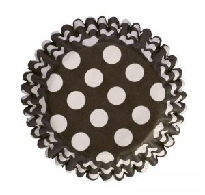 Black Dot Cupcake Cases (54 packs)