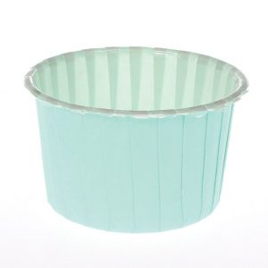 Aqua Baking Cups (24 packs)
