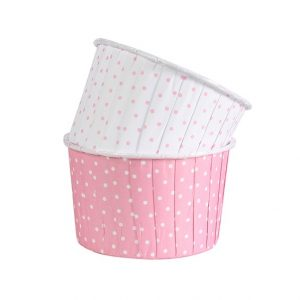 Pink Dot Baking Cups (24 packs)
