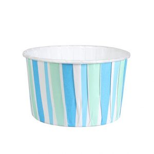 Blue Stripe Baking Cups (24 packs)