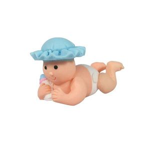 Cake Star Topper – Baby with Blue Hat