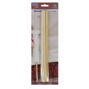PME 12 Bamboo Cake Dowel Rods – 12″