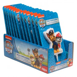 Paw Patrol Candle with Chase & Marshall